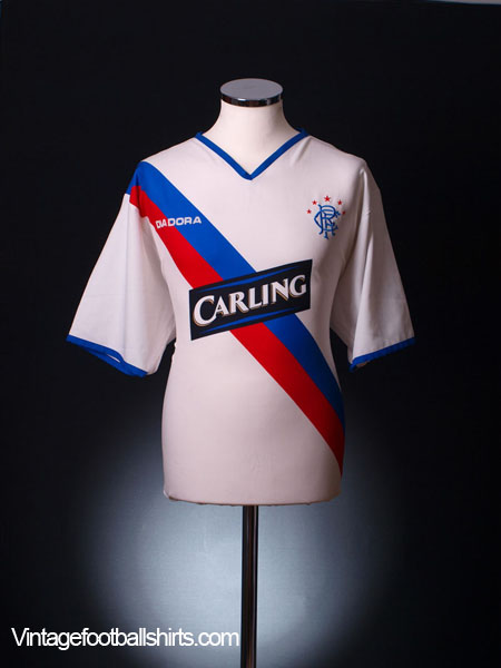 2004-05 Rangers Away Shirt L
