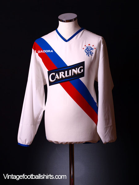 2004-05 Rangers Away Shirt L/S M