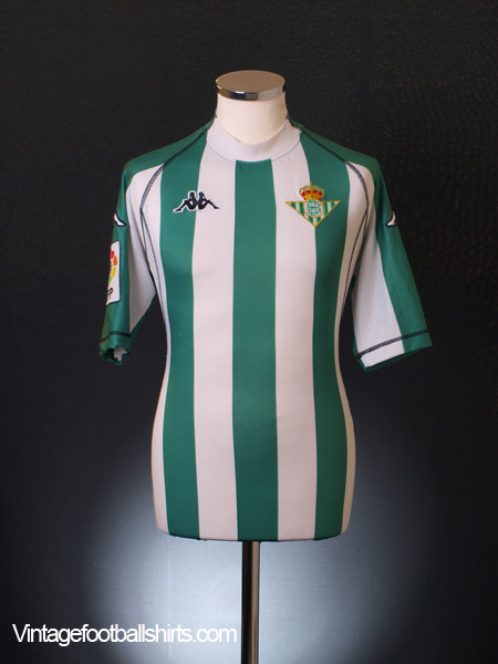 2004-05 Real Betis Home Shirt XL