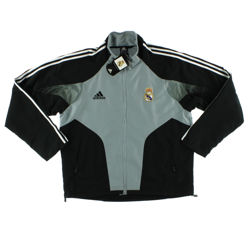 2004-05 Real Madrid adidas Presentation Jacket *w/tags* XL