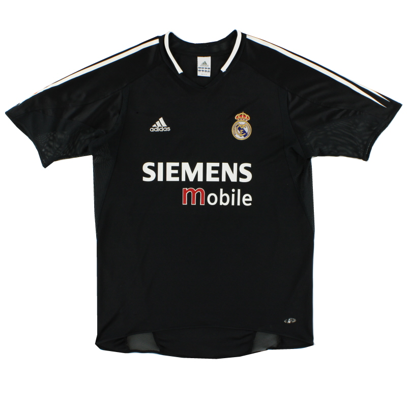 2004-05 Real Madrid Away Shirt XXL