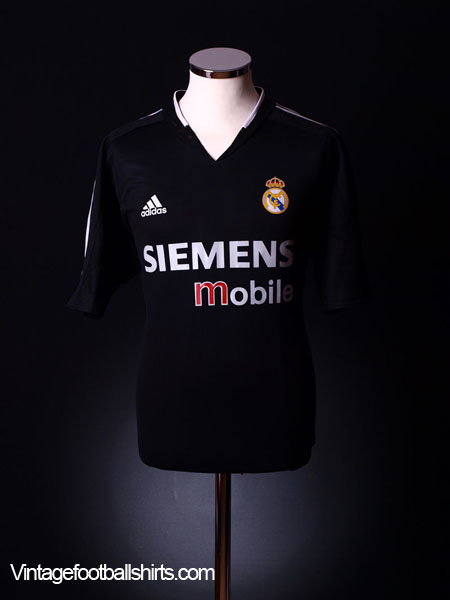 2004-05 Real Madrid Away Shirt M