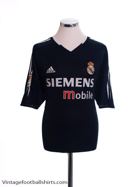 2004-05 Real Madrid Away Shirt S