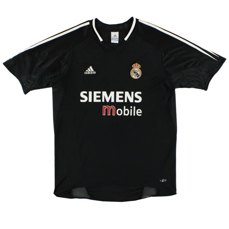 2004-05 Real Madrid Away Shirt L