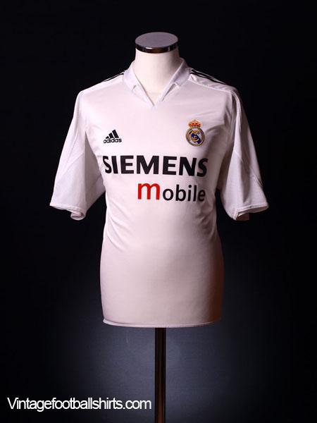 2004-05 Real Madrid Home Shirt XL