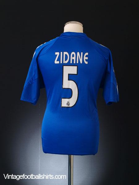 27f1bec35f1 2004-05 Real Madrid Third Shirt Zidane  5 M for sale