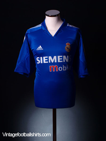 2004-05 Real Madrid Third Shirt S