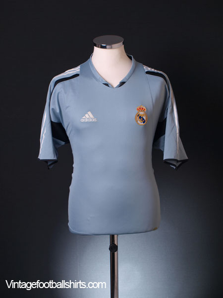 2004-05 Real Madrid Training Shirt L