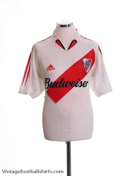 2004-05 River Plate Home Shirt M