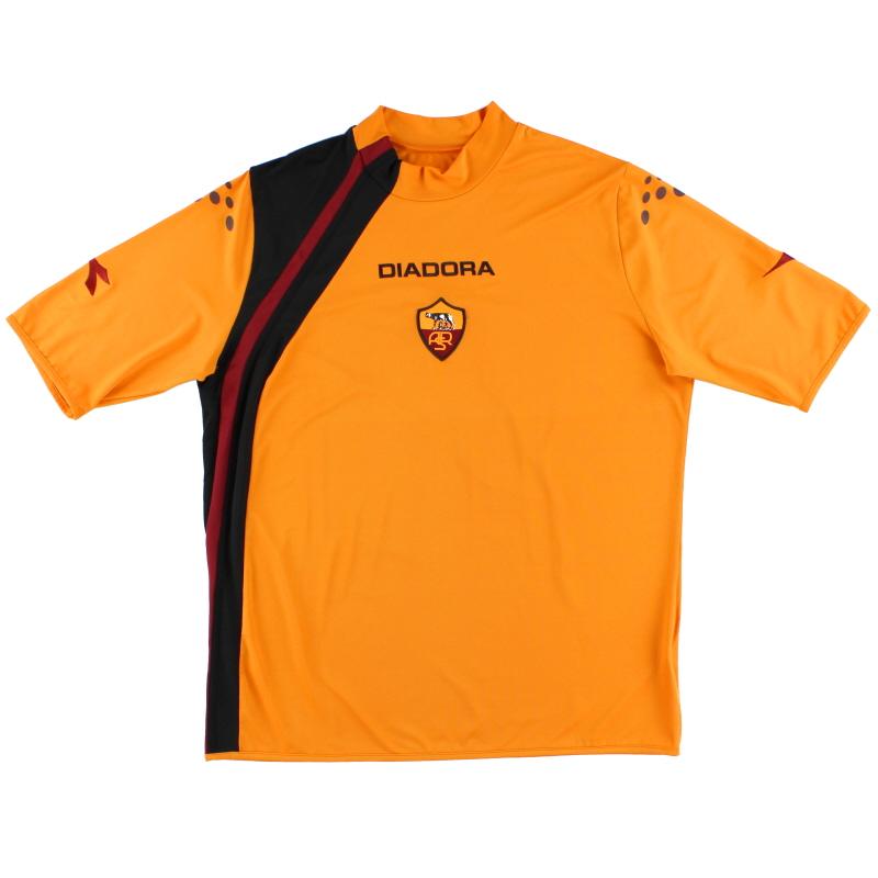 2004-05 Roma Third Shirt XL