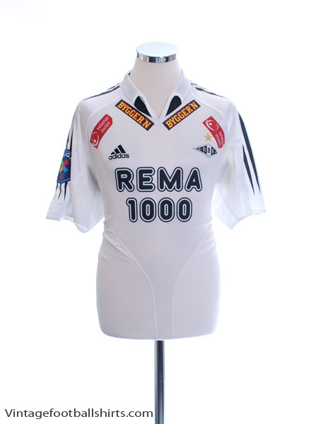 2004-05 Rosenborg Home Shirt *Mint* M - 639685