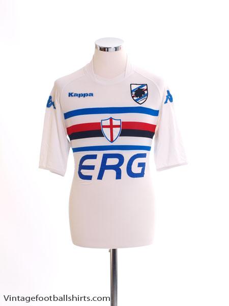2004-05 Sampdoria Away Shirt Flachi  10 M for sale e707db8d0