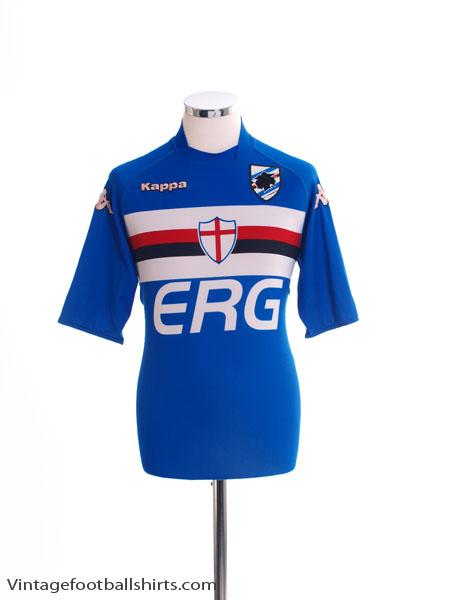 2004-05 Sampdoria Home Shirt L
