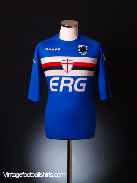 2004-05 Sampdoria Home Shirt L