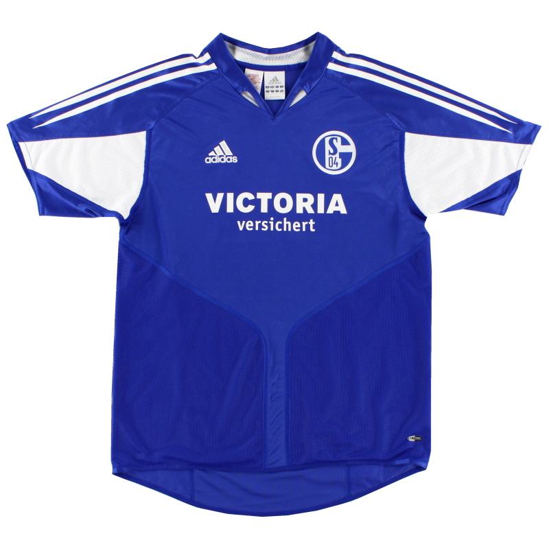 2004-05 Schalke Home Shirt XL