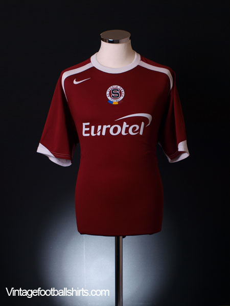 2005-07 Sparta Prague Home Shirt L