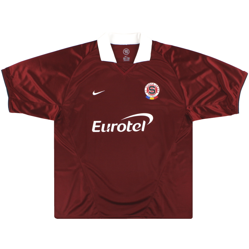 2004-05 Sparta Prague Nike Home Shirt XL