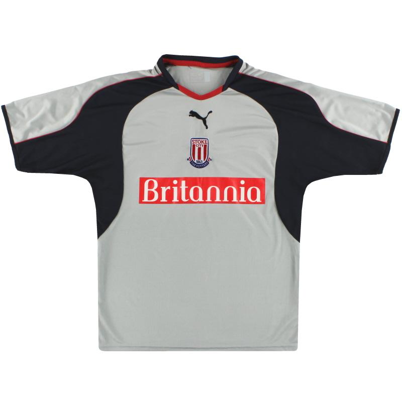 2004-05 Stoke City Puma Away Shirt S