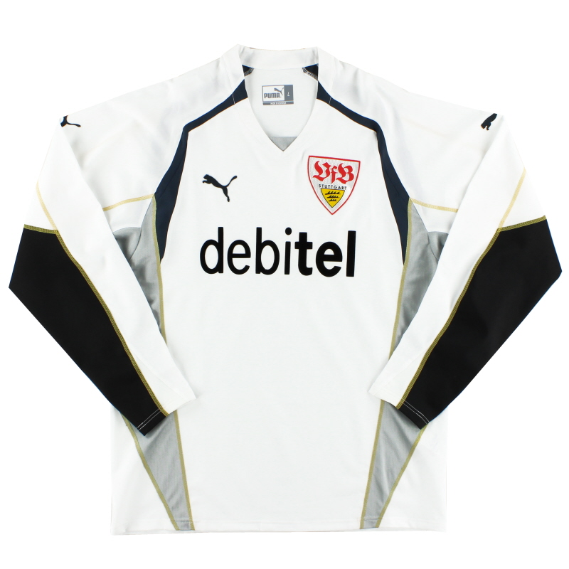 2004-05 Stuttgart Goalkeeper Shirt *Mint* XL