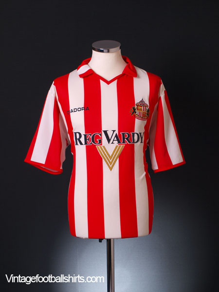 2004-05 Sunderland Home Shirt L
