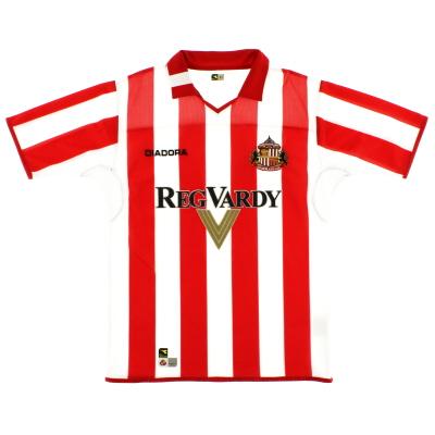 2004-05 Sunderland Diadora Home Shirt M