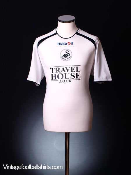 2005-06 Swansea City Home Shirt *Mint* XXL