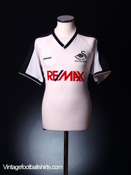 2004-05 Swansea City 'Vetch Field' Home Shirt L