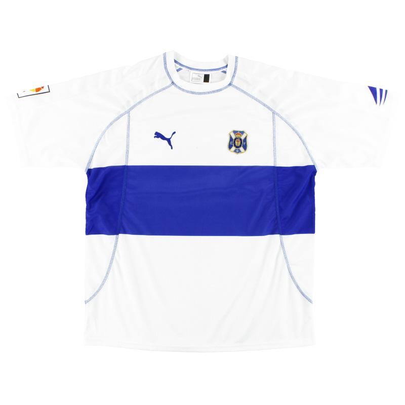 2004-05 Tenerife Puma Home Shirt M