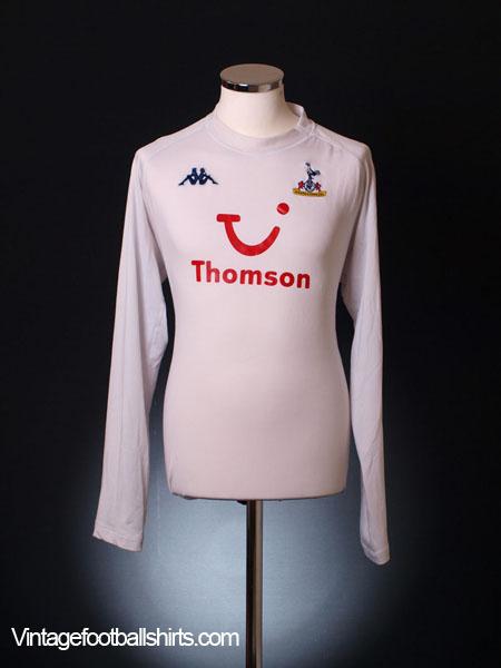 2004-05 Tottenham Home Shirt L/S XXXL