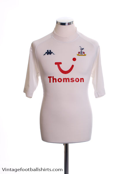 2004-05 Tottenham Home Shirt XL