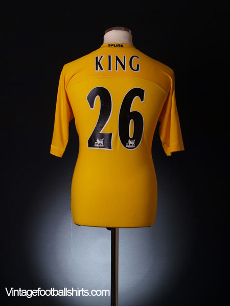2004-05 Tottenham Third Shirt King #26 XL