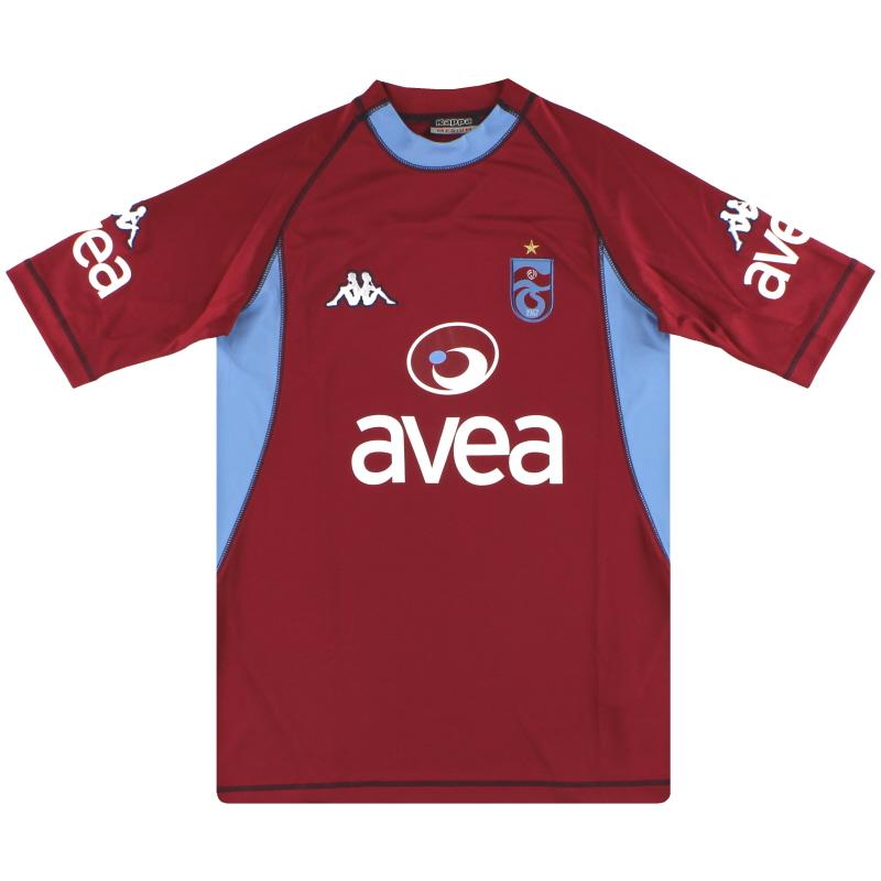 2004-05 Trabzonspor Kappa Third Shirt M