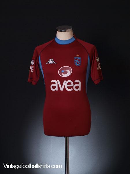 2004-05 Trabzonspor Third Shirt M