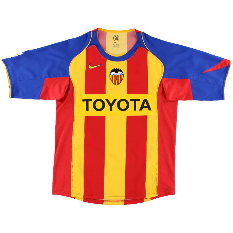 2004-05 Valencia Third Shirt *Mint* M - 118912