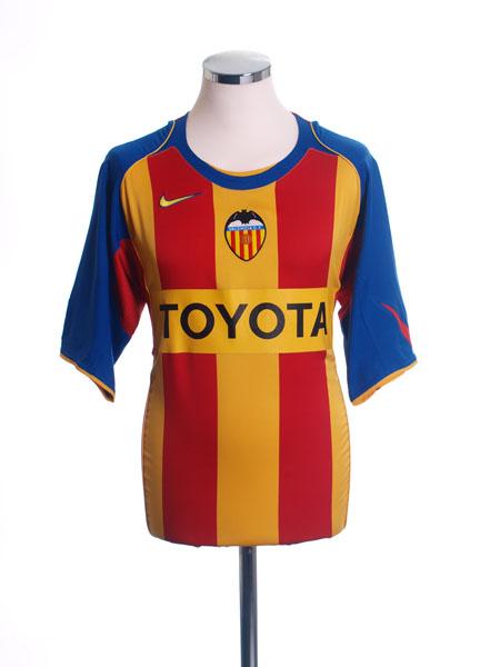 2004-05 Valencia Third Shirt L