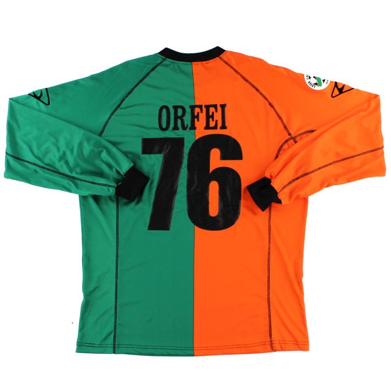 2004-05 Venezia Match Issue Third Shirt Orfei #76 L/S XL