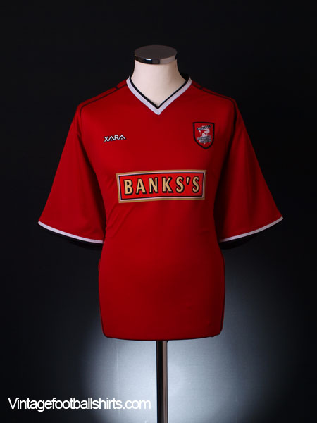2004-05 Walsall Home Shirt L