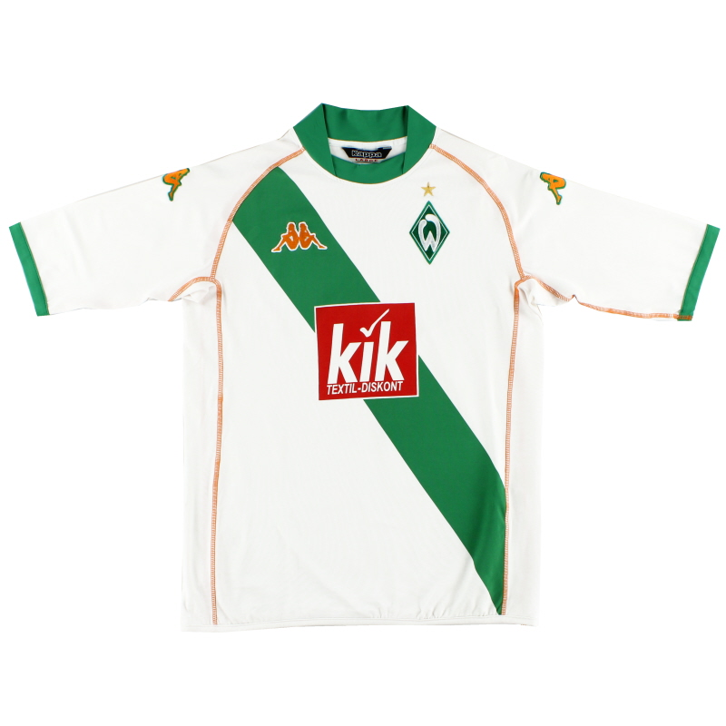2004-05 Werder Bremen Away Shirt S