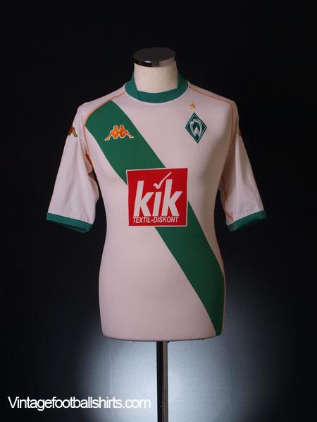 2004-05 Werder Bremen Away Shirt L