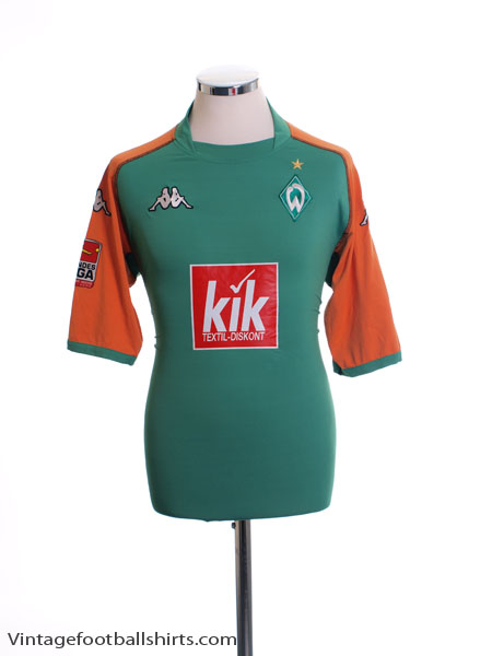 2004-05 Werder Bremen Home Shirt XXL