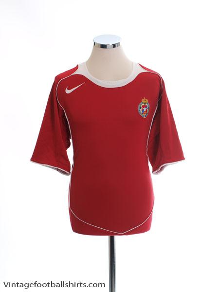 2004-05 Wisla Krakow Home Shirt *Mint* XL