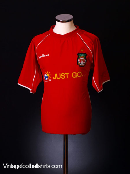 2004-05 Wrexham Home Shirt M