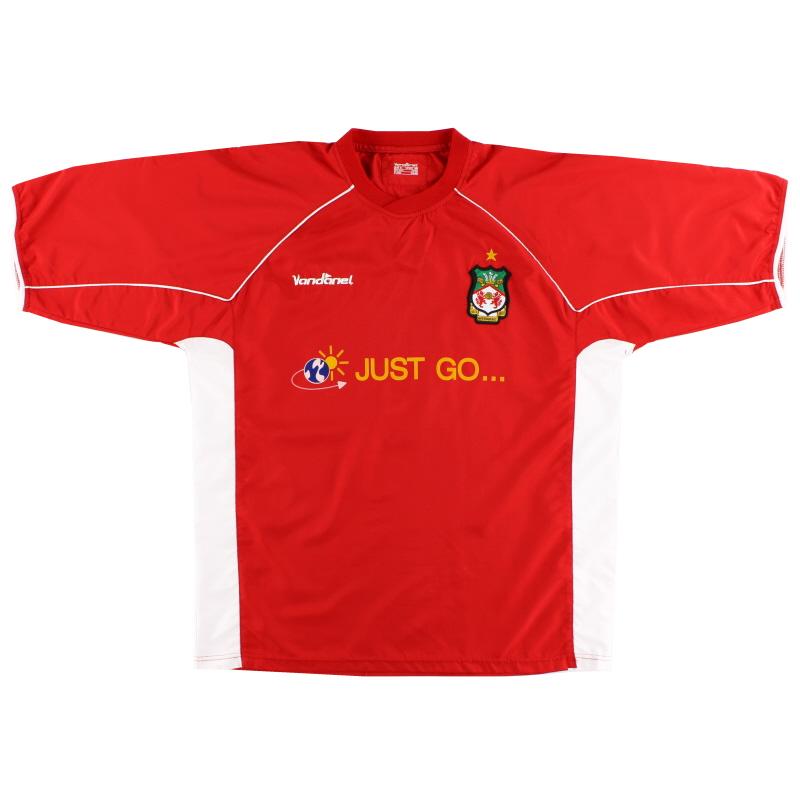 2004-05 Wrexham Home Shirt S