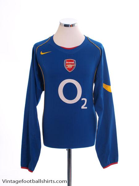2004-06 Arsenal Away Shirt L/S L