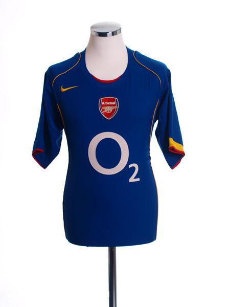 2004-06 Arsenal Away Shirt L