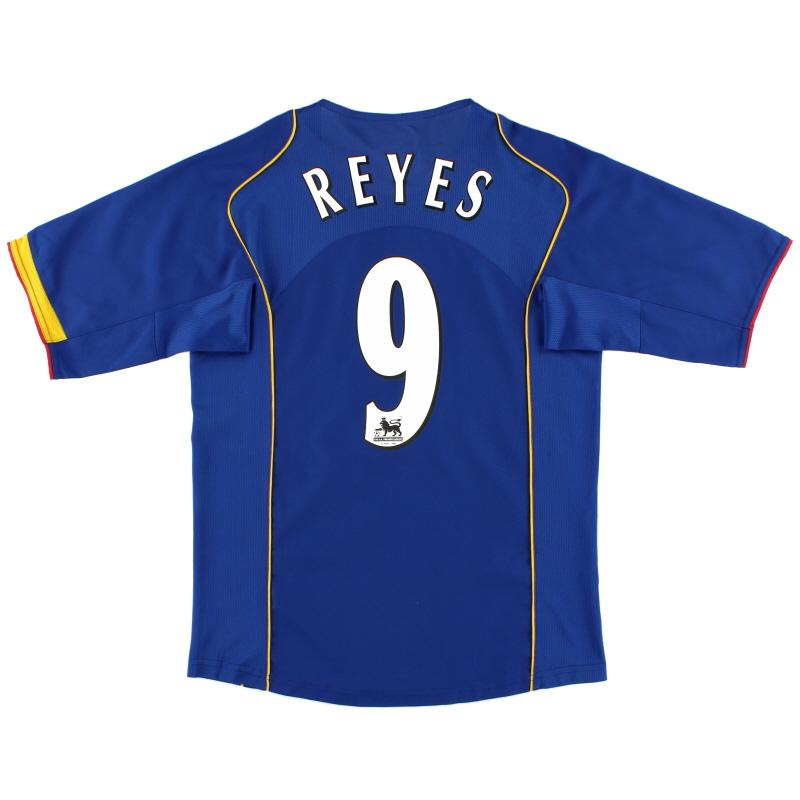 2004-06 Arsenal Away Shirt Reyes #9 S - 118819