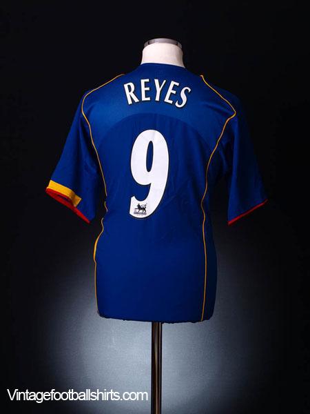 2004-06 Arsenal Away Shirt Reyes #9 XXL