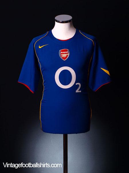 2004-06 Arsenal Away Shirt XL