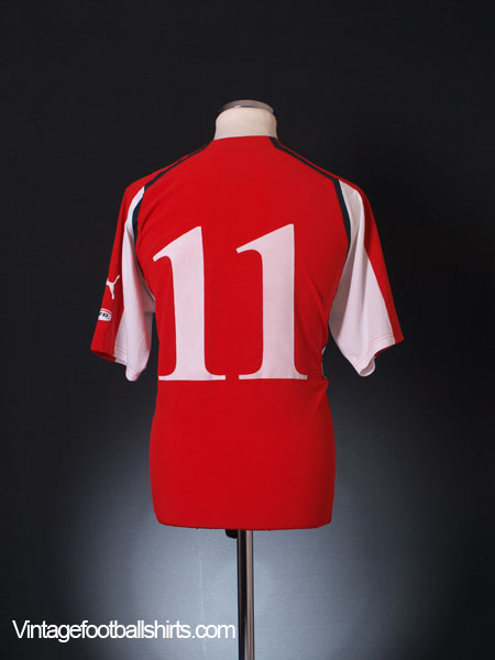 2004-06 Austria Away Shirt #11 XL