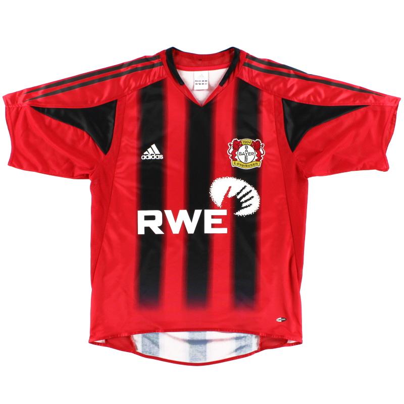 2004-06 Bayer Leverkusen Home Shirt S